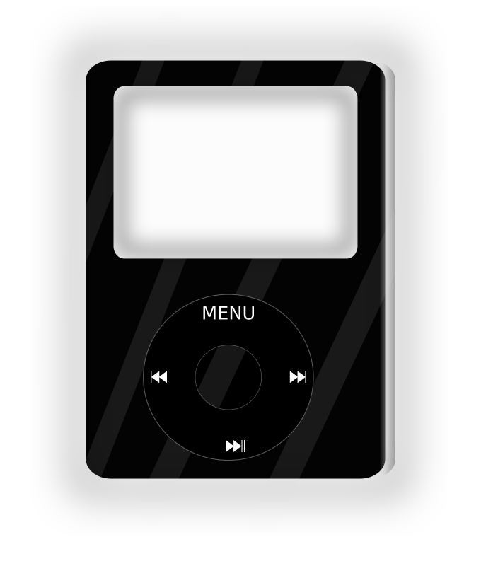 Ipod by jesuscanom - Black Ipod, mp3 player
