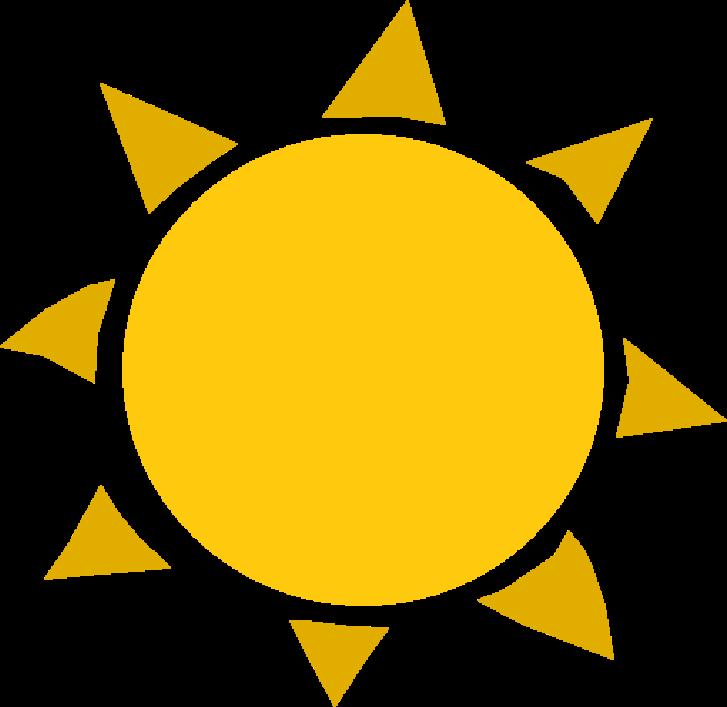 Clipart - Sun