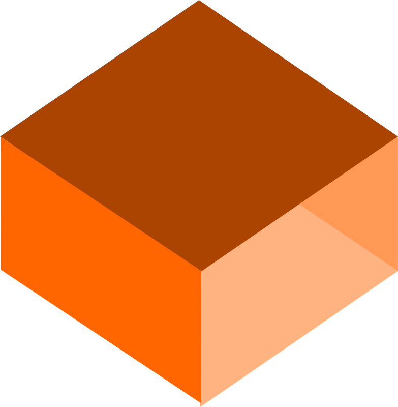 box by ecuabron - just an orange box