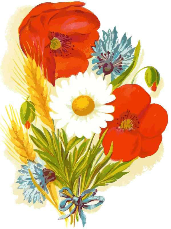 Clipart - Flowers 4