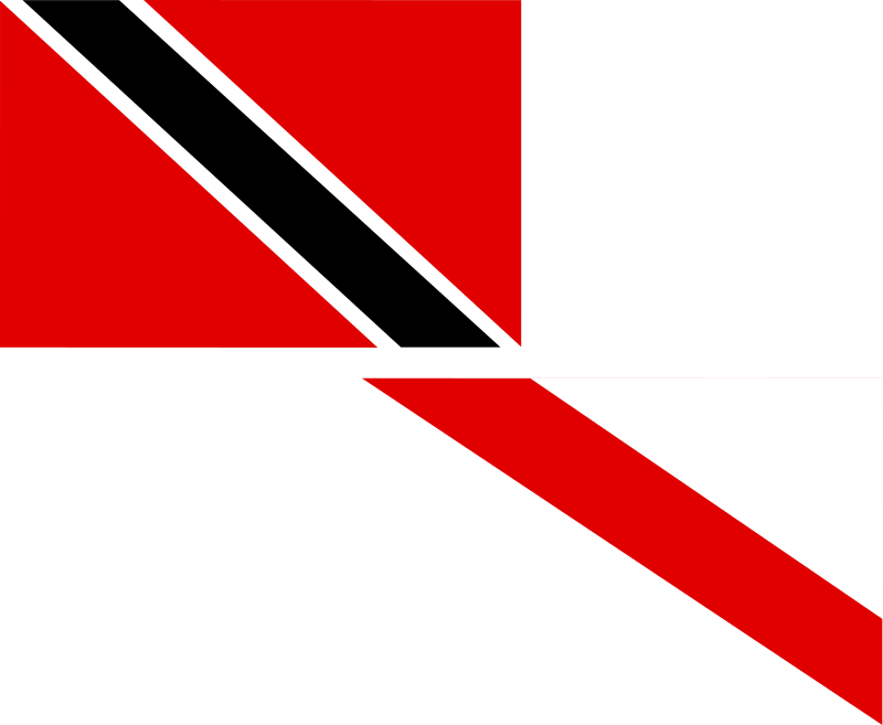 flag of Trinidad and Tobago by Anonymous