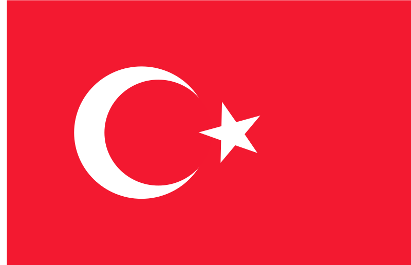 flag of Turkey by Anonymous