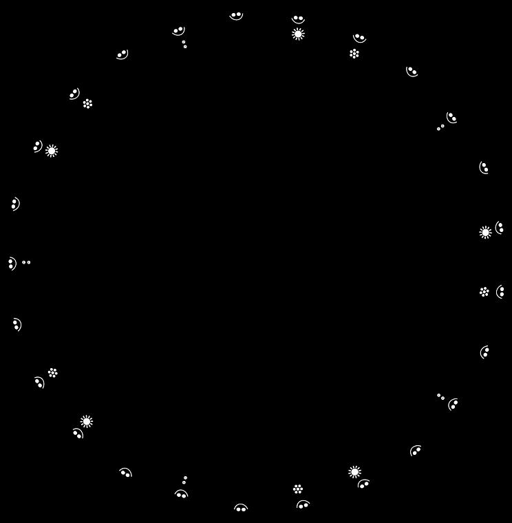Clipart - Children Dancing Circle