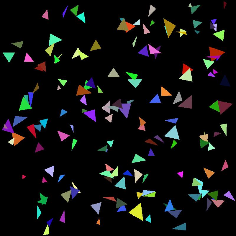 Confetti clipart