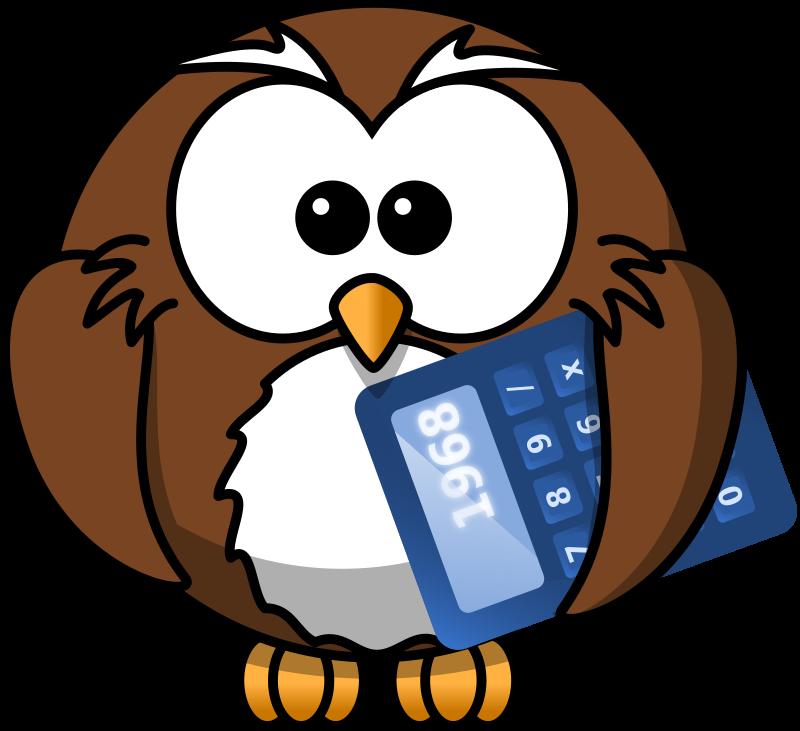 math owl clipart - photo #5