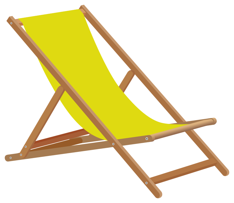Clipart - Beach chair