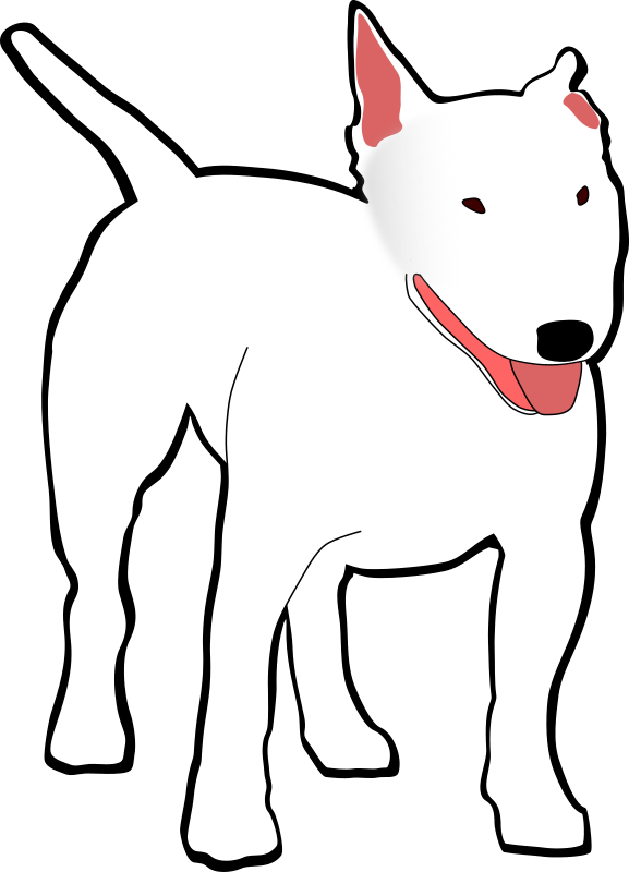 bullterrier by drunken_duck