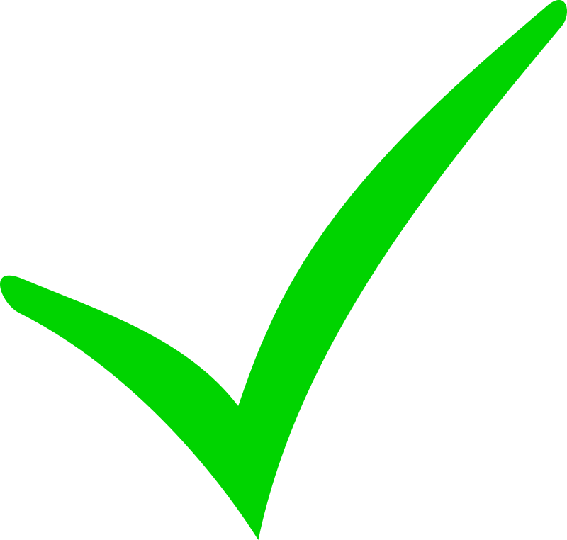 Green Checkmark and Red Minus by Anselmus - Two Symbols: