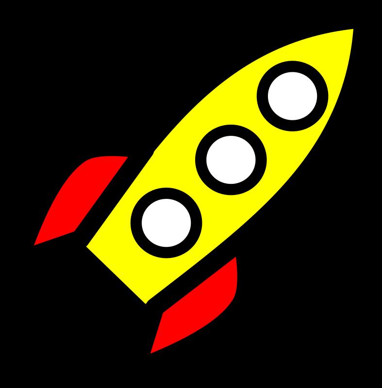 free cartoon rocket ship clip art - photo #49