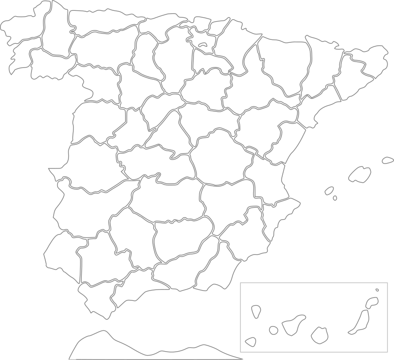 Spain - provinces by Anonymous