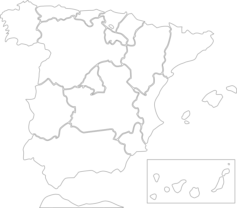 Spain - states by Anonymous
