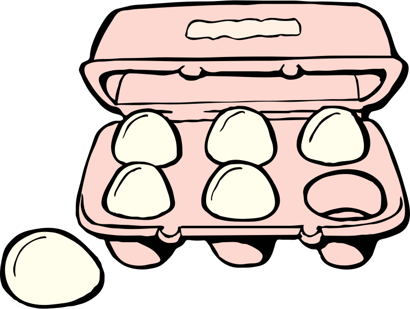 carton of eggs by johnny_automatic - source: