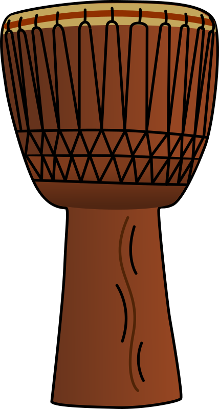 African Drum 2 by bpcomp - An African drum by Benji Park. From old OCAL site.