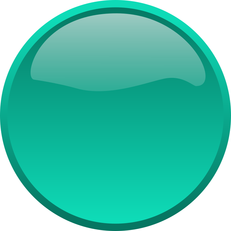 Button Cyan by bpcomp - A cyan button by Benji Park. From old OCAL site.