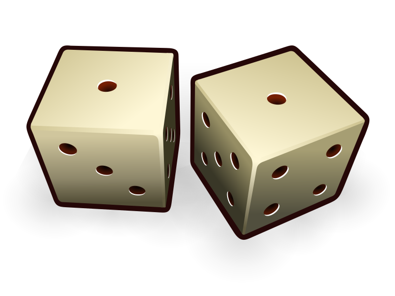 dice_11 by jeronimo - An image of two dices