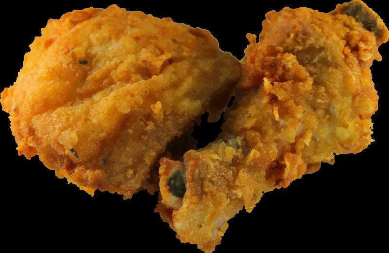 Clipart - Fried chicken