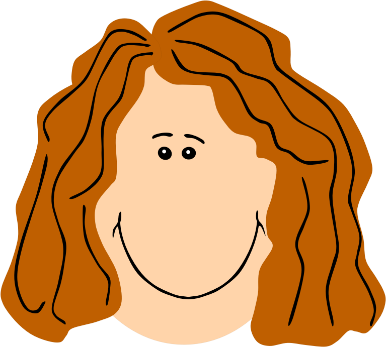 Clipart Mom Face Ginger