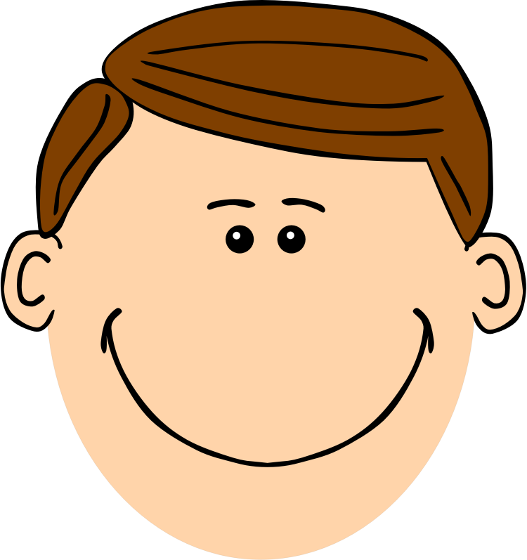 Clipart - Brown haired dad