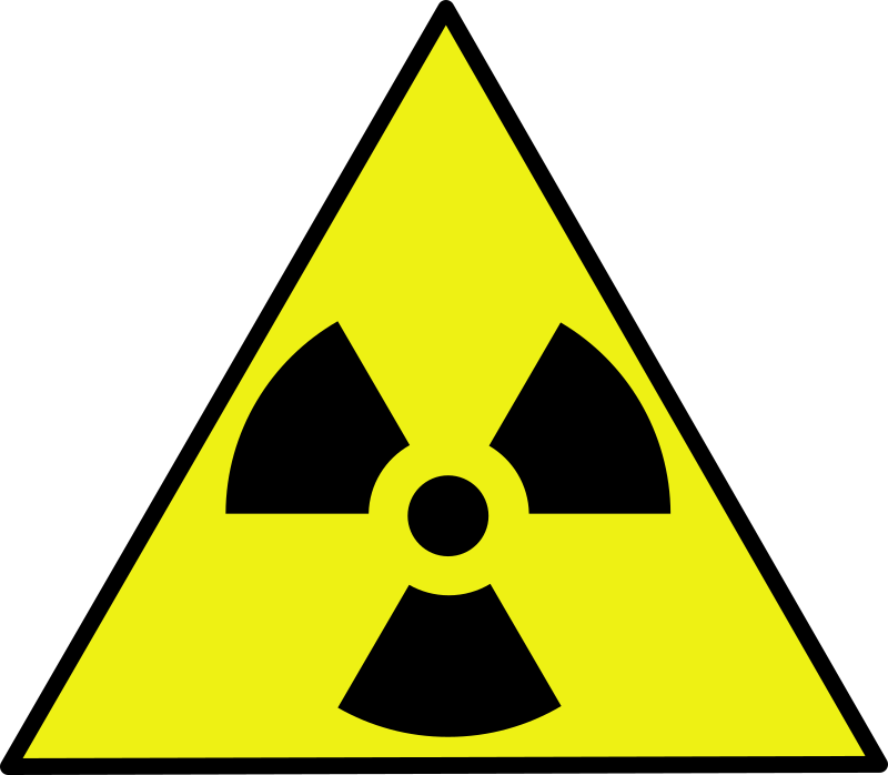 Nuclear warning sign by cherrypie - Standard nuclear warning sign