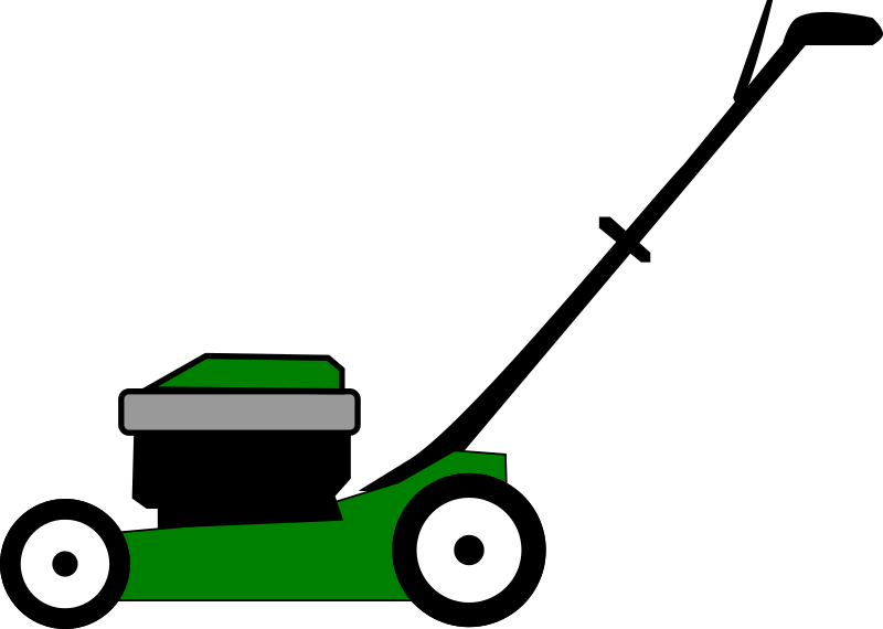 Clipart Lawnmower