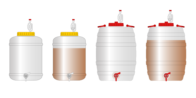 Homebrewing Fermenters by stefanolmo - Fermenters for homebrewers