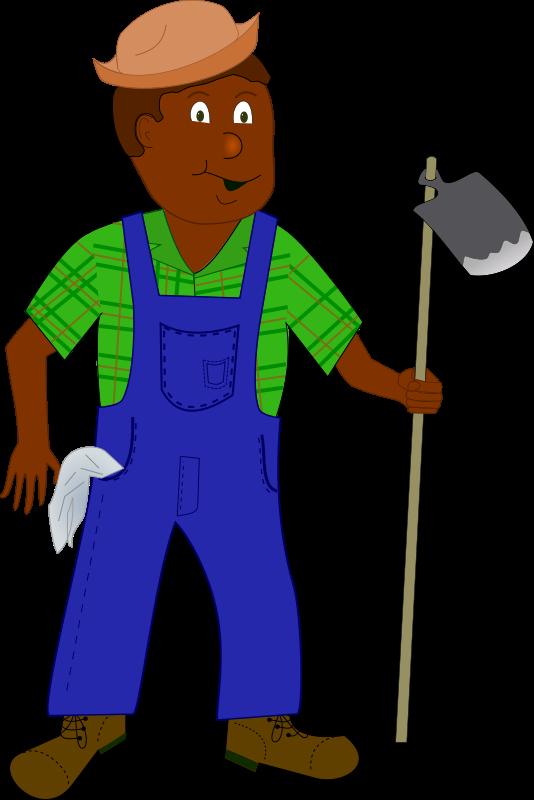 Clipart - African Farmer