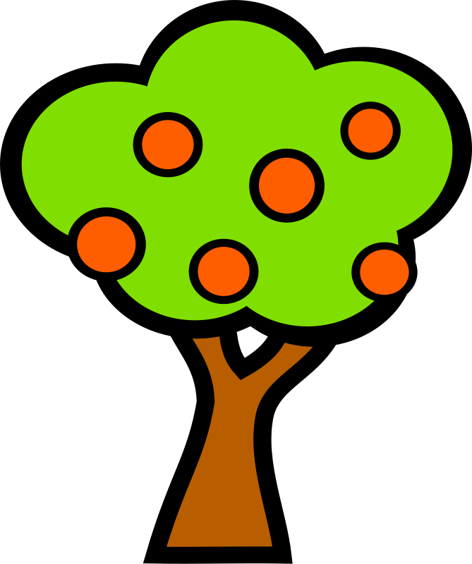 tree with fruits by Anonymous