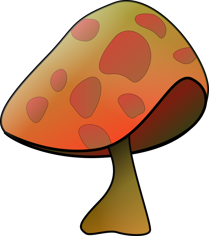 Mushroom by bpcomp - A mushroom by Benji Park. From old OCAL site.