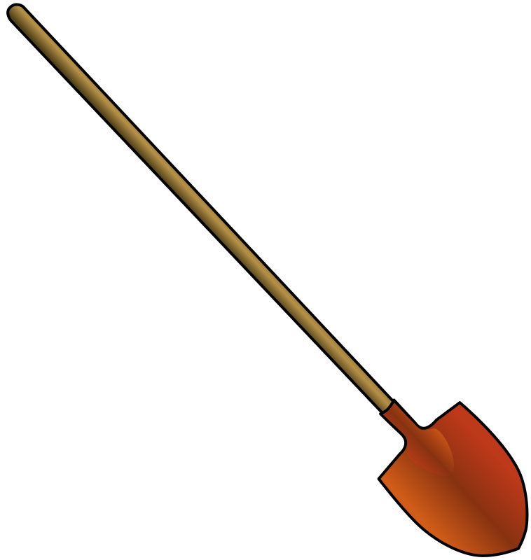 Round point shovel by bpcomp