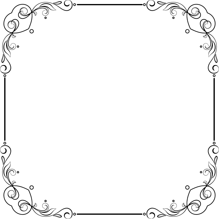 Clipart - Elegant Flourish Frame