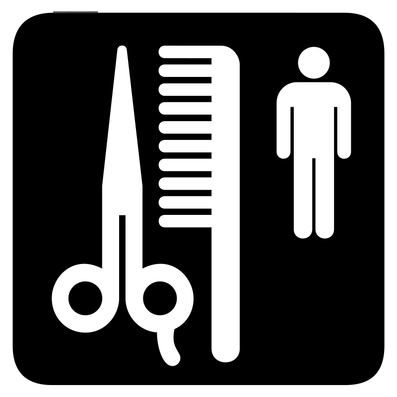 aiga barber shop bg by jean_victor_balin - Set of international airport symbols. Source: http://www.aiga.org/content.cfm/symbol-signs Converted to SVG by Jean-Victor Balin.