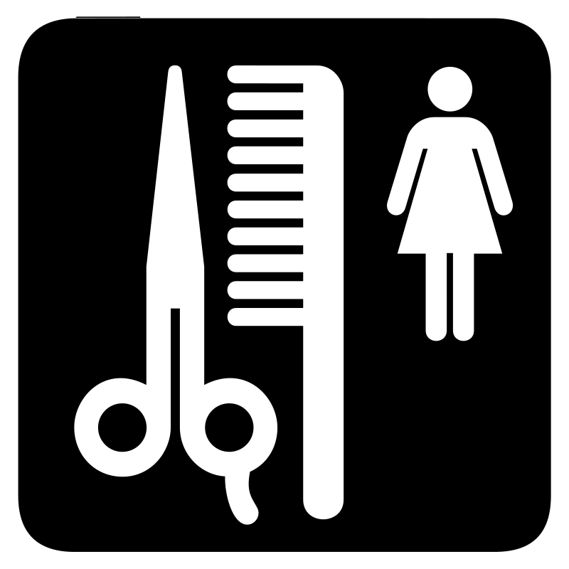 aiga beauty salon bg by jean_victor_balin - Set of international airport symbols. Source: http://www.aiga.org/content.cfm/symbol-signs Converted to SVG by Jean-Victor Balin.