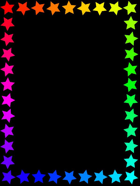 Clipart Star Frame 3