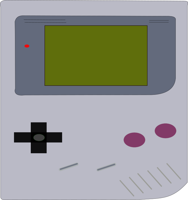 Gameboy by Tavin - a low detailed Gameboy