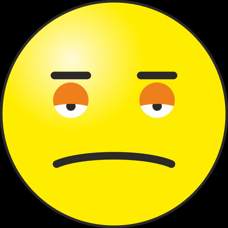 Clipart - Sad emoticon
