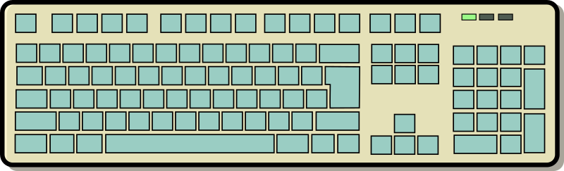 Keyboard by bdoin - A keyboard layout (without letters) by Bruno Coudoin. From old OCAL site.