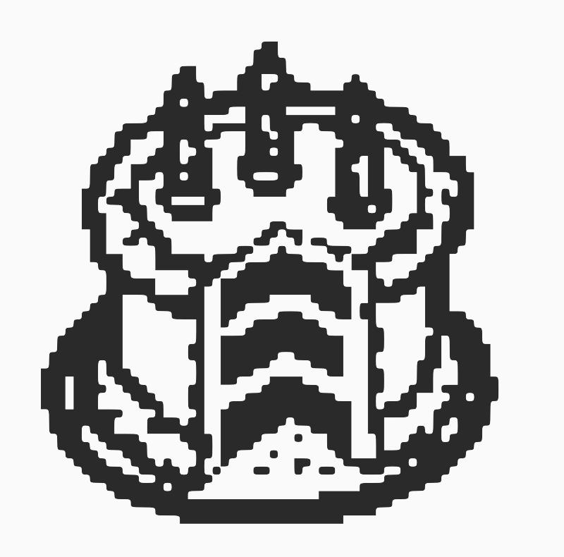 Pixel Art Wedding Cake : Clipart - Cake