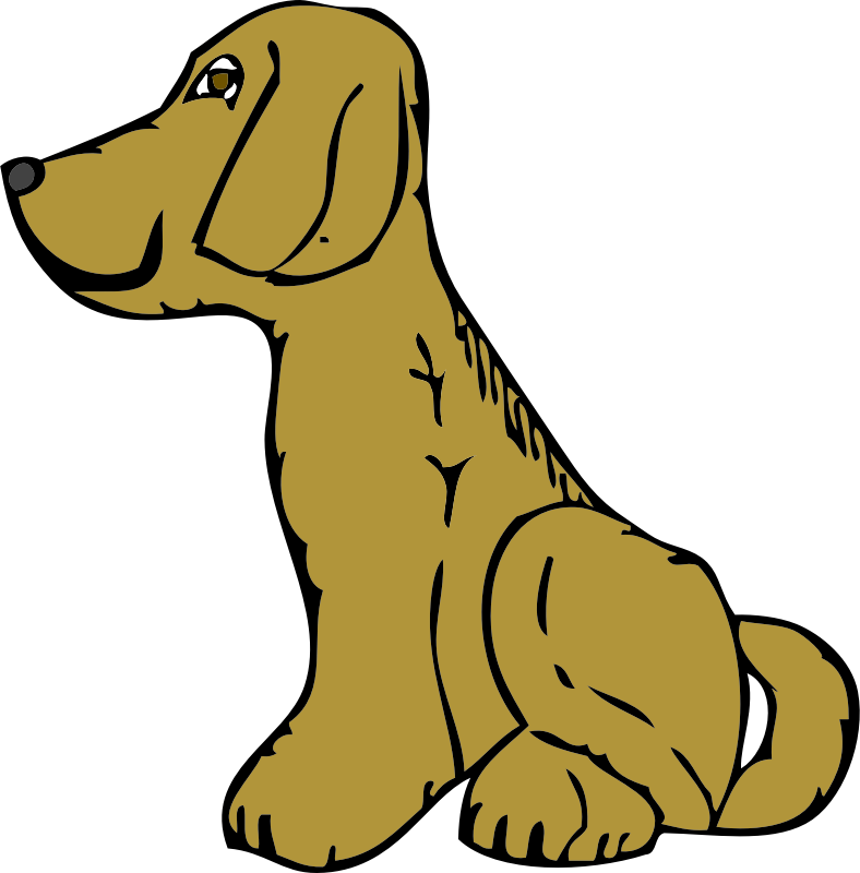 dog side view by johnny_automatic - U.S Patent Office