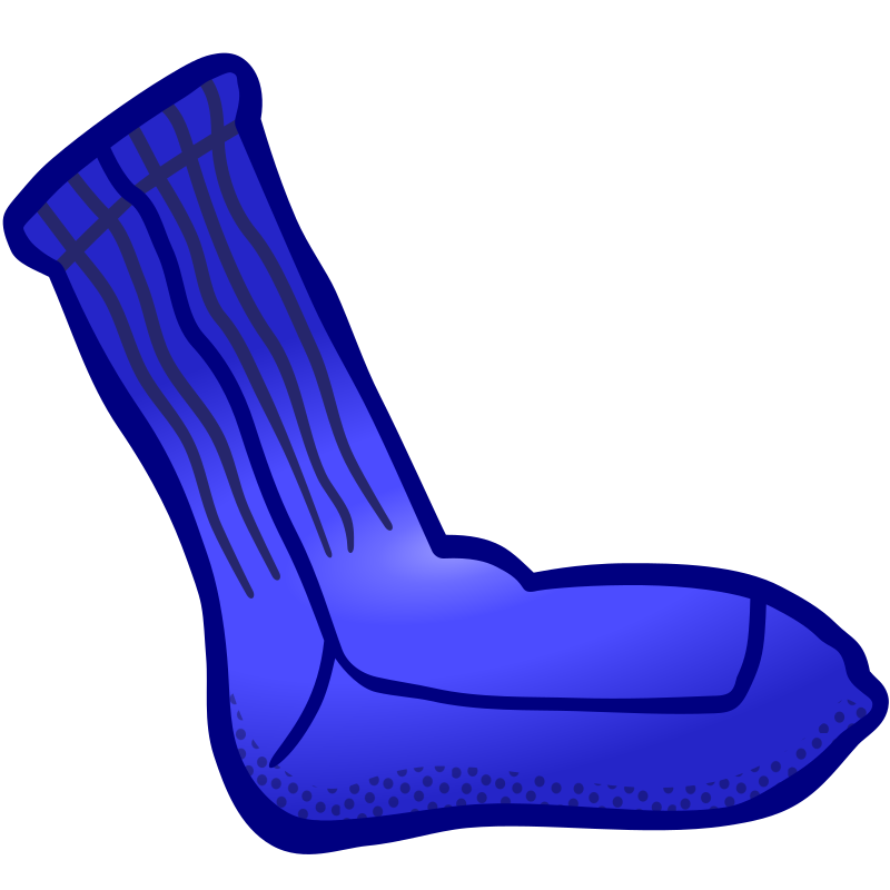 clipart   sock   coloured