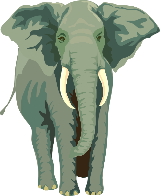 Architetto -- Elefante 01 by francesco_rollandin - An elephant by Francesco 'Architetto' Rollandin. From OCAL 0.18 release.