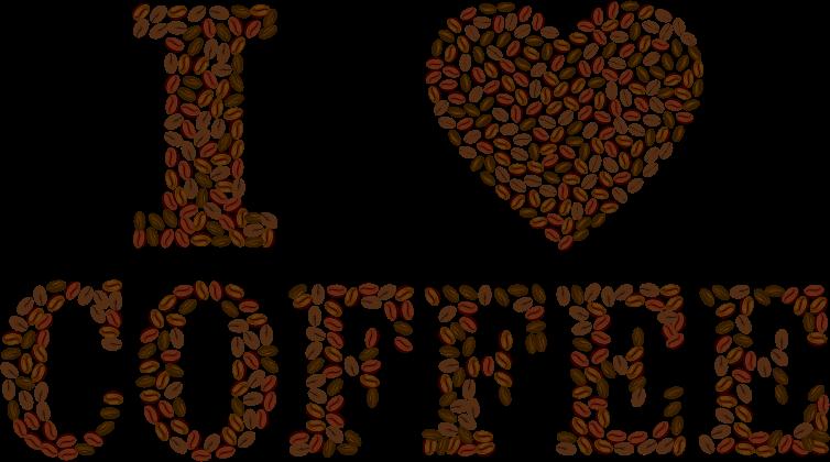 clipart i heart coffee