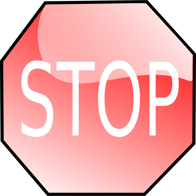 stop sign by JoelM - Stop sign by Joel Montes de Oca. From OCAL 0.18 release.