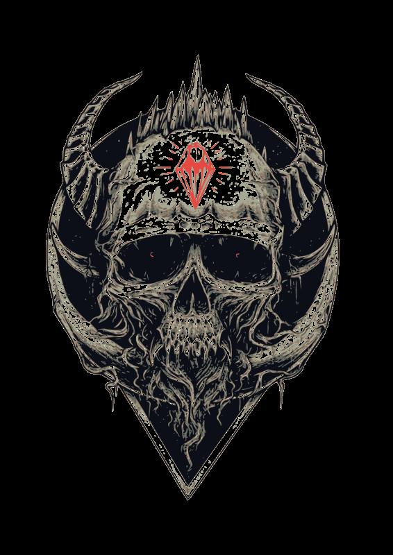 Clipart - skull