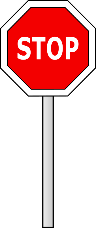 Stop sign by raemi - A simple stop sign