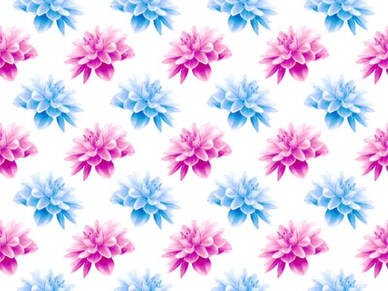 Flower Pattern 5 (fuller Colours