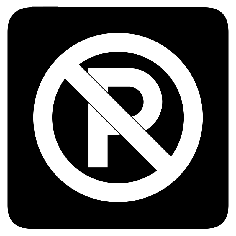 aiga no parking bg by jean_victor_balin - Set of international airport symbols. Source: http://www.aiga.org/content.cfm/symbol-signs Converted to SVG by Jean-Victor Balin.