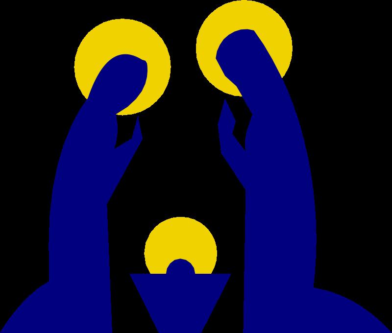 Clipart - Holy Family