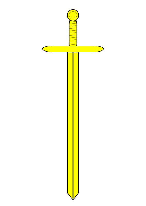 sword Or (yellow) by rhysfaber