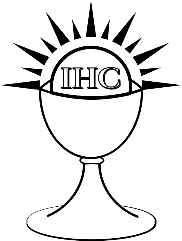 Clipart Chalice And Host