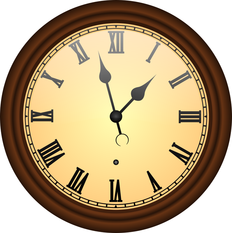 clipart old clock